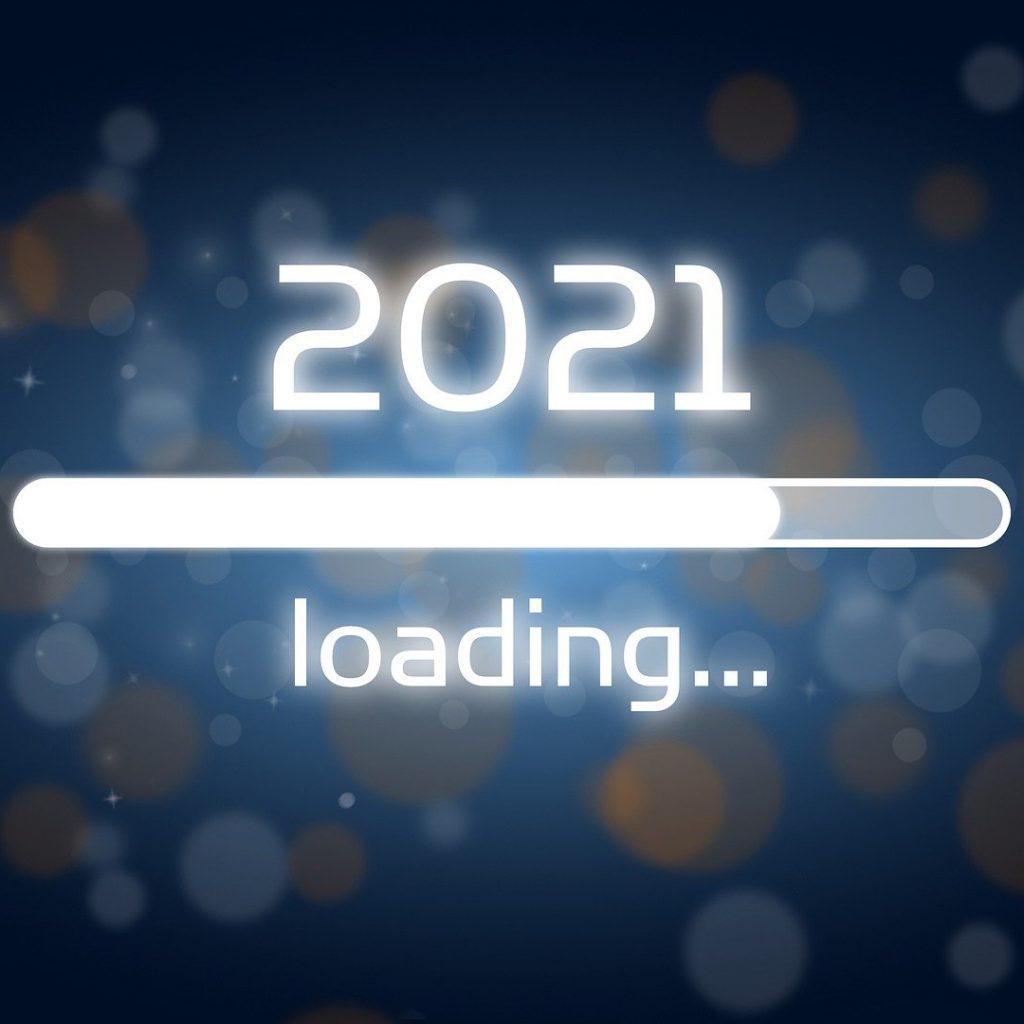 A képen 2021 és loading felirat olvasható.